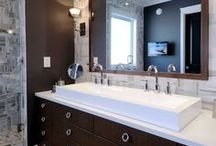 Bathrooms we love / Bathroom spaces we like!