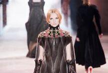 Fashion show / Показы мод и модные журналы