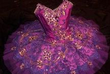 Tutus #1: Purple & Pink / Purple & pink tutus with thin straps / by Michelle Briscoe