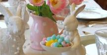 Easter / Decorating ideas, home decor and beautiful entertaining pieces will enliven your home for Easter!