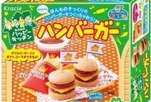 Popin Cookin DIY Japanese Candy Making Kits ❤ / You can make different shapes of food by just adding water into the ingredients. Very fun experience to make not only for kids, but the whole family and with friends.