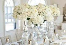 Białe dekoracje...