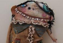 Odd Dolls / Dia de muertos dolls, monsters, who doo dolls
