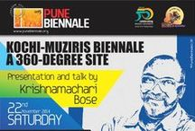 PuneBiennale Events / Come and explore different activities to be undertaken during the Biennale.  http://punebiennale.org/