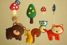 Ideias para quarto de bebê / Idéias de decoração para quarto de bebê