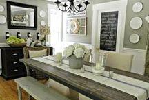 "Dining Rooms We Love / Dining Rooms We Love --- ""Your Home. Your Life. Our Passion"" Stuart & Associates - Real Estate, PLC - Licensed in Iowa & Nebraska USA www.SOLDbySTUART.com"