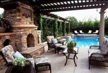 "Outdoor Living Spaces We Love / Outdoor Living Spaces We Love --- ""Your Home. Your Life. Our Passion"" Stuart & Associates - Real Estate, PLC - Licensed in Iowa & Nebraska USA www.SOLDbySTUART.com"