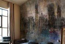 Wand, Fussboden