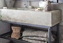 Concrete in Interiors / Blog : http://kateyoungdesign.com IG : https://www.instagram.com/kateyoungdesign/?hl=en
