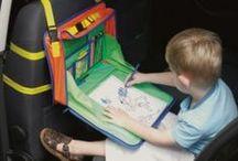 Organizadores para carro / Organizadores para colocar entretenimento para crianças  no carro