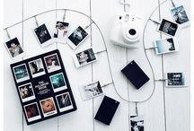 POLAROID IDEAS / To take a memory with you in a little square picture.