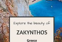 visit Greece,the Greek island that we love !#Zante or Zakynthos on Mediterranean Ionio sea Greece /  my second home