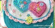 crochê - bolsas / Bolsas feitas em croche