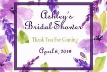 Bridal Showers / Find inspiration for hosting a bridal shower with our decor, recipes and entertaining ideas.  We also have a lovely line of personalized bridal shower favors.