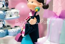 Figurines fondant / by P Chickabug