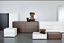 Contemporary nightstands and chest of drawers
