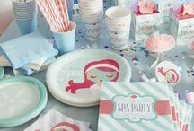 Spa / Pamper Party Ideas
