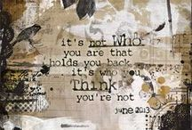 Art Journals / Art Journal Pages I LIke / by Tracy (Tandy) Anderson