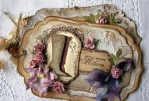 Tags / Beautiful tags handmade or decorated by artists / by Tracy (Tandy) Anderson