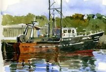 Seascapes & Boats / by Tracy (Tandy) Anderson