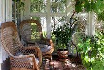 Scandinavian gardens & porches