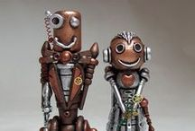 Robots / Steam punk and other robots