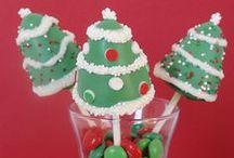 Cake Pops de Navidad / Fantásticas creaciones de Cake Pops para estas Navidades.