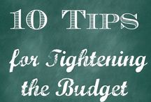 home budgeting / financial discipline tips / by Heidi Martin