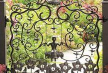 gates / interesting garden gates & transitions
