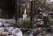 Winter wonderland / Winter magic & decorations outside