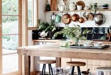 Kitchen ideas / Indoors & Out
