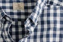 Checked shirts