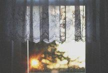 A Framed View! / رگبار نوبهاري و خواب دريچه را از ضربه هاي وسوسه مغشوش ميكني... / by Monire