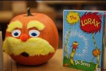Book-O-Lanterns / Jack-o'-lanterns and decorated pumpkins inspired by favorite books