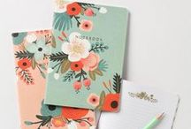 Stationery Obsession / There's nothing that perks you up more than an awesome notebook! / by Naiise