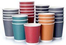 Ripple Wrap Cup Premium Pappbecher / Kaffeebecher Doppelwandig Pappbecher geriffelt gehören zur Königsklasse von Hartpapierbecher Coffee to go Becher zum mitnehmen.