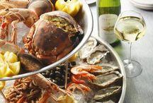 Fruit de mer ❤️ Platter (oyster) / Ooit wil ik een hele lange tafel met allemaal vis en schaaldieren. Doel is 1.000 volgers, dan ga ik het doen!