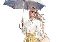 Glamorous Illustration