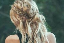 CURLS. / a messy bun. a fishtail braid. a classic up-do. find the look for you.