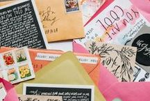 A THING CALLED LETTERS. / mailing is still around. let's make use of it.