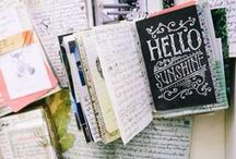 JOURNALING. / a pen and paper put together with creativity.