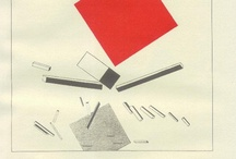 Art - El Lissitzky - 2 squares and other works / The Constructivist Art and Design of El Lissitzky