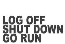 FRESH AIR. / run a little. it is good for the soul.