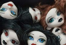 Dolls, collectible 3D projects. / Yes, I paint doll heads. I make the original designs, paint prototypes and samples, and also prepare templates, specs and samples for factory manufacturing. Properties I've worked on include: Barbie, My Scene, Bratz, Polly Pocket, Marvel, DC Comics, Disney, Begoths, Princess Ai, Star Trek, Harry Potter, So Raven, Puffy Ami Yumi, Spiderman, Ironman, Andre the Giant, Steve McQueen, Pretty Girls, Goldie Blox.