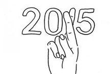 TWENTY-FIFTEEN. / snapshot of the year 2015.