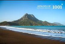 1001 Beaches of Antalya / Discover the amazing beaches of the Antalya region. 197 of the 397 Blue Flag Beaches of Turkey are in Antalya.