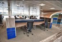 Fabrick Housing Group / Installation of furniture into Fabrick Housing Group's Middlesbrough HQ.
