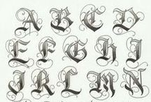 Lovely lettering / Nothing says something as beautifully as hand-drawn lettering...