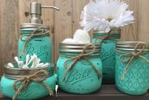 Mason Jars ♡ / Everything is better in a mason jar!