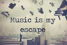 My Music... / Music gives colour to the air of the moment. - Karl Lagerfeld.